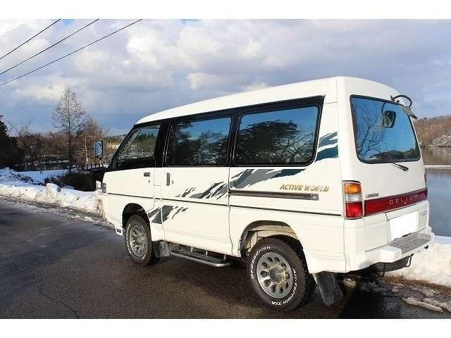 三菱 デリカスターワゴン アクティブワールド ウインタースペシャル 4WD ターボ