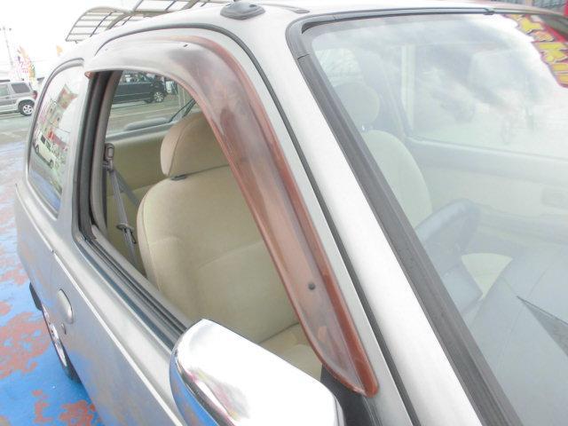 日産 マーチ ボレロ社外13インチアルミホイール電動格納ミラーWエアバッグ