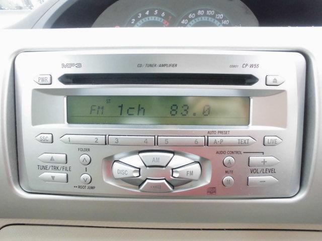 使いやすいCD付です楽しいドライブのお供にいいですね!好きな音楽を聴きながらのドライブは楽しいですよね!ご要望があればナビの販売からお取付けもいたします!持ち込みもOKです!