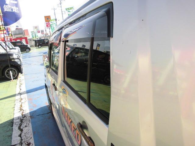 ターボ MOMOステアリングETC社外14インチアルミホイール社外フルエアロCDフル装備ETCサイドバイザー電動格納ミラーWエアバッグ(36枚目)