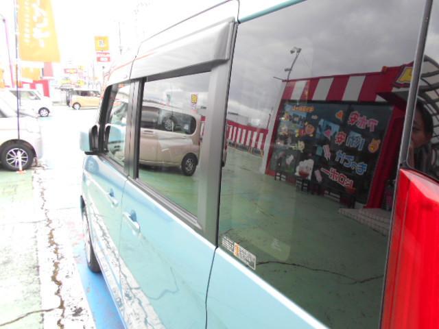 お得なプライバシーガラスです!プライバシーガラスですと燃費向上にも繋がるので経済的です!