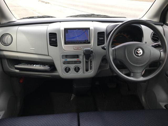 マツダ AZワゴン FX 4WD ナビ DVD再生可 14インチアルミ ABS