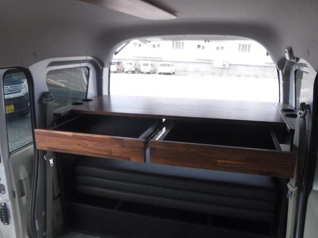 ジョイン 4WD 軽キャンピングカー 車中泊 サブバッテリー(6枚目)