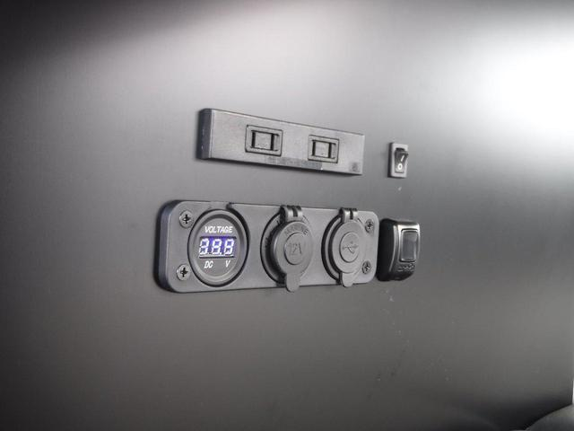ジョイン 4WD 軽キャンピングカー 車中泊 サブバッテリー(8枚目)