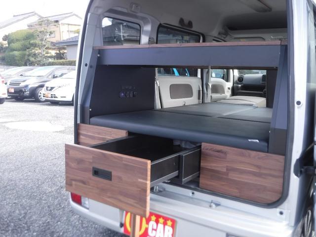 ジョイン 4WD 軽キャンピングカー 車中泊 サブバッテリー(11枚目)