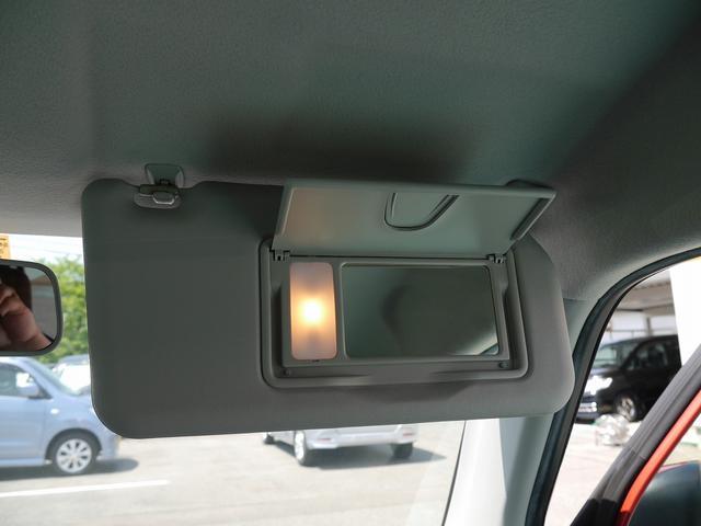 ■ライト付きバニティミラー(運転席)
