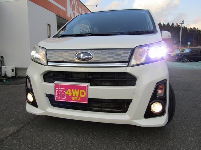 カスタムR 4WD 社外ナビ フルセグTV HIDヘッドライト 純正14インチアルミホイール アイドリングストップ プッシュスタート スマートキー(25枚目)