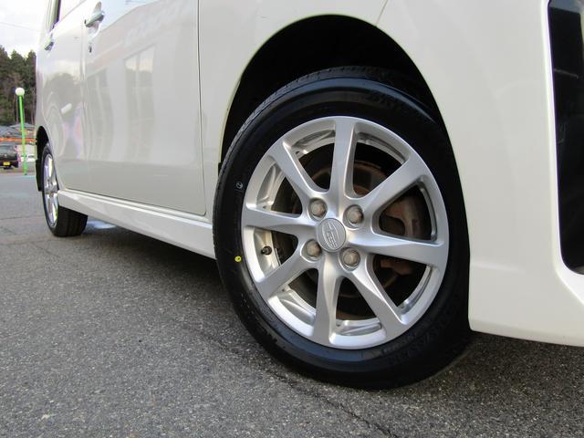カスタムR 4WD 社外ナビ フルセグTV HIDヘッドライト 純正14インチアルミホイール アイドリングストップ プッシュスタート スマートキー(26枚目)