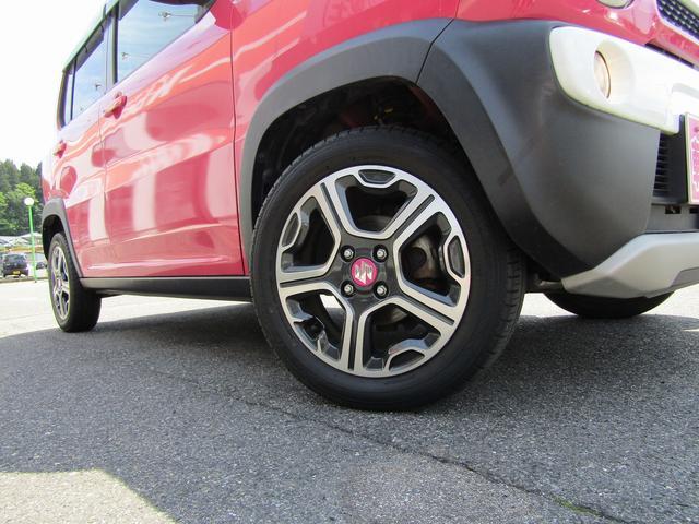 Xターボ 4WD 社外メモリーナビ ワンセグTV 純正アルミホイール HIDヘッドライト シートヒーター 衝突被害軽減ブレーキ アイドリングストップ スマートキー(11枚目)