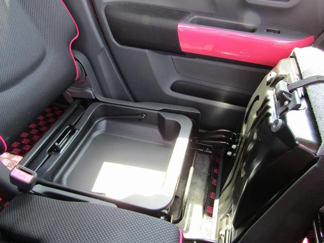 Xターボ 4WD 社外メモリーナビ ワンセグTV 純正アルミホイール HIDヘッドライト シートヒーター 衝突被害軽減ブレーキ アイドリングストップ スマートキー(21枚目)