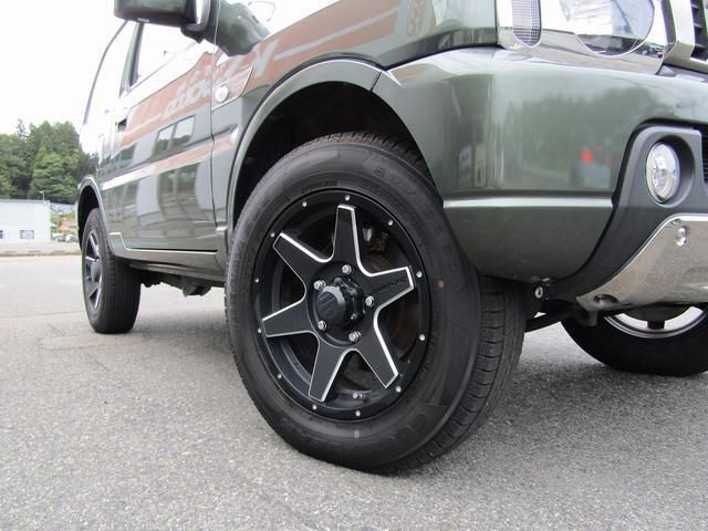 ランドベンチャー 4WD 社外ナビ TV ドライブレコーダー ステアリングスイッチ ハーフレザーシート シートヒーター フォグ 背面スペアタイヤ ETC(5枚目)