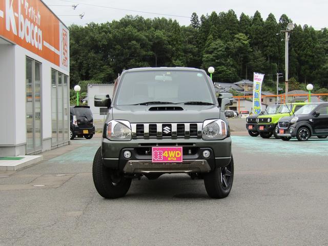 ランドベンチャー 4WD 社外ナビ TV ドライブレコーダー ステアリングスイッチ ハーフレザーシート シートヒーター フォグ 背面スペアタイヤ ETC(6枚目)