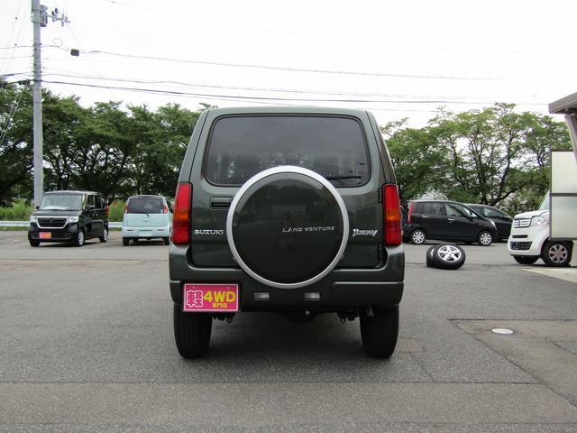 ランドベンチャー 4WD 社外ナビ TV ドライブレコーダー ステアリングスイッチ ハーフレザーシート シートヒーター フォグ 背面スペアタイヤ ETC(7枚目)