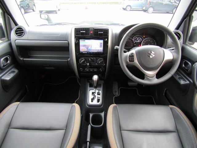 ランドベンチャー 4WD 社外ナビ TV ドライブレコーダー ステアリングスイッチ ハーフレザーシート シートヒーター フォグ 背面スペアタイヤ ETC(18枚目)