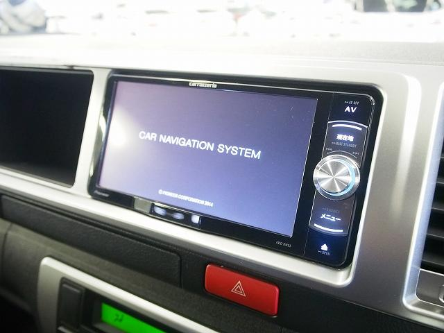 トヨタ ハイエースワゴン グランドキャビン 4WD パワスラ 社外メモリーナビ 地デジ