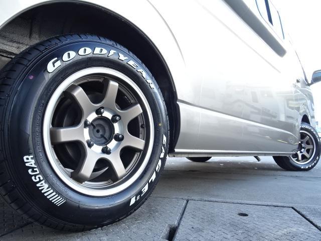 トヨタ ハイエースバン キャンピングカーアムクラフト コンパスドルク FFヒーター