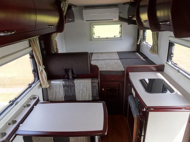 ベースグレード ナッツRV クレソンX 4WD FFヒーター マックスファン 給排水ポリタンク各20L 冷蔵庫 ツインサブバッテリー 外部充電 走行充電 FFヒーター リアクーラー Bカメラ ワンオーナー ETC(38枚目)