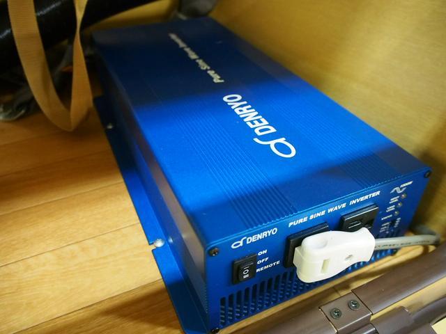 RVビックフット イレーネ 4WD 寒冷地仕様 FFヒーター 1500Wインバーター シンク 給排水ポリタンク テレビ サブバッテリー 走行充電 外部電源 HDDナビ 社外16AW エアロ ETC(13枚目)
