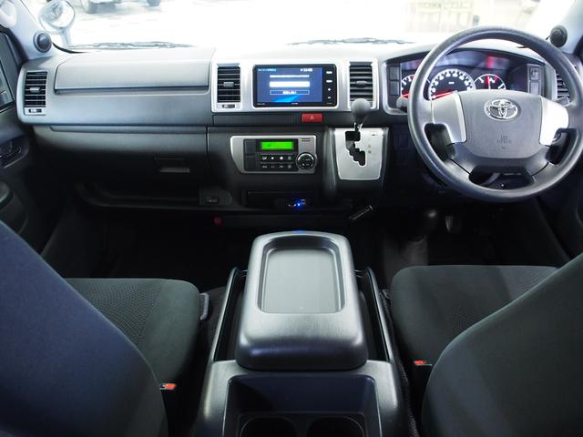 スーパーGL ベッドキット 社外SDナビ Bモニタ- 地デジ ワンオーナー スマートキー オートエアコン ビルトインETC バンパープロテクター オーバーフェンダー マッドフラップ ドライブレコーダー(5枚目)