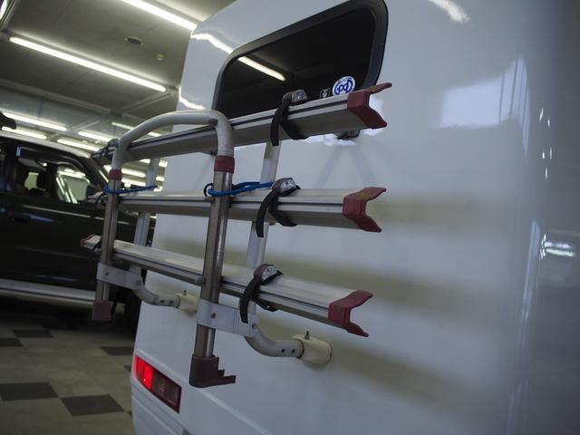 AZ-MAX K-ai 対面タイプ スズキ純正SDナビ Bモニター 地デジ ETC シガーソケット シンク  シングルサブバッテリー 走行充電 べバスト製FFヒーター Rランチョショック 電圧計(20枚目)