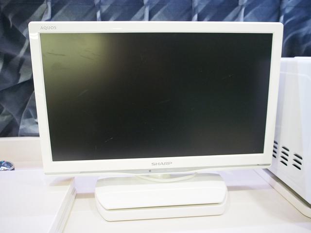 シャープ製19型テレビ付き!