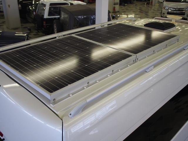 ソーラーパネル160W×2枚