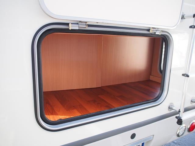 ナッツRV クレソンボヤージュW 4WD FFヒーター 冷蔵庫 ツインサブバッテリー 外部充電器 走行充電 マックスファン シャワーフォーセット付きシンク 給排水ポリタンク各20L Bカメラ ETC(26枚目)