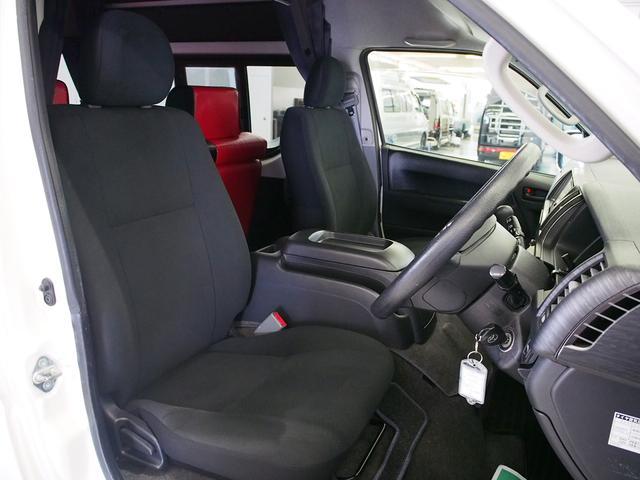 ティピーアウトドアデザイン トラヴォイ 4WD FASPシート サブバッテリー RECAROシート 走行充電 FFヒーター 給排水タンク フリップダウンモニター ローダウン 社外ナビ Bモニター(6枚目)