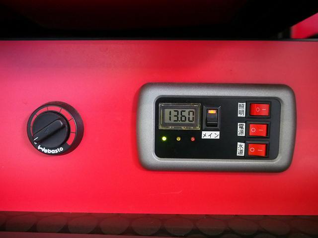 ティピーアウトドアデザイン トラヴォイ 4WD FASPシート サブバッテリー RECAROシート 走行充電 FFヒーター 給排水タンク フリップダウンモニター ローダウン 社外ナビ Bモニター(9枚目)