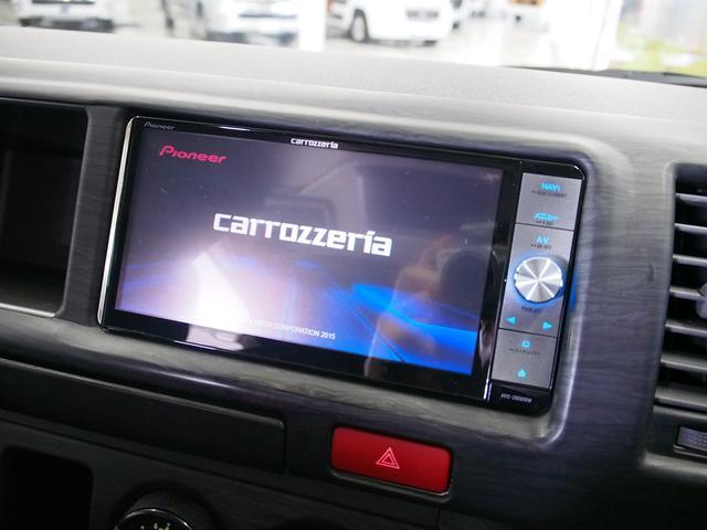 ティピーアウトドアデザイン トラヴォイ 4WD FASPシート サブバッテリー RECAROシート 走行充電 FFヒーター 給排水タンク フリップダウンモニター ローダウン 社外ナビ Bモニター(11枚目)