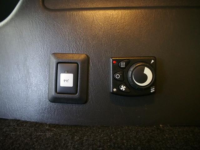 FOCS Di 4WD FFヒーター 寒冷地仕様 ソーラーパネル インバーター ツインサブ シンク 冷蔵庫 電子レンジ FFヒーター マックスファン レザーシート加工 フリップダウンモニター(14枚目)