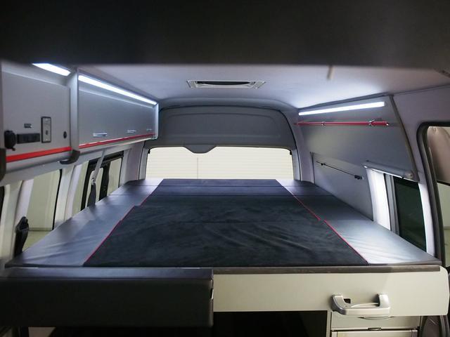 レクビィ トートバッグ 4WD 純正SDナビ 地デジ 純正LEDヘッド シンク 給排水10Lポリ DC冷蔵庫 アウターシャワー ツインサブBT 1500Wインバーター FFヒーター マックスファン(5枚目)