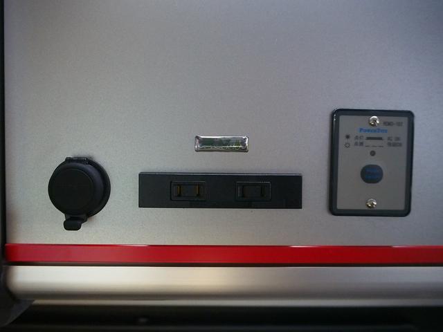 レクビィ トートバッグ 4WD 純正SDナビ 地デジ 純正LEDヘッド シンク 給排水10Lポリ DC冷蔵庫 アウターシャワー ツインサブBT 1500Wインバーター FFヒーター マックスファン(8枚目)