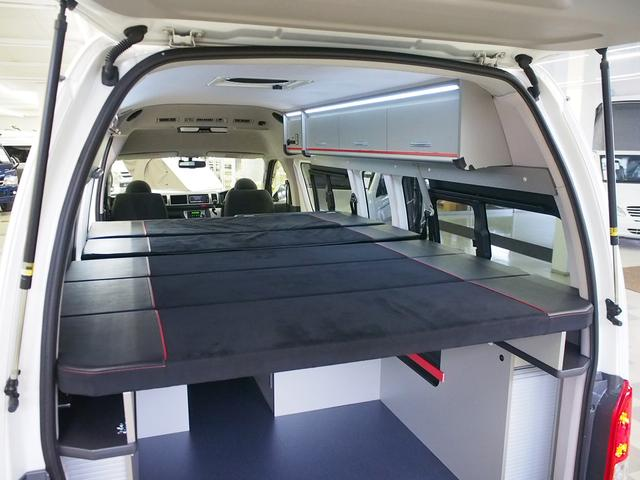 レクビィ トートバッグ 4WD 純正SDナビ 地デジ 純正LEDヘッド シンク 給排水10Lポリ DC冷蔵庫 アウターシャワー ツインサブBT 1500Wインバーター FFヒーター マックスファン(42枚目)
