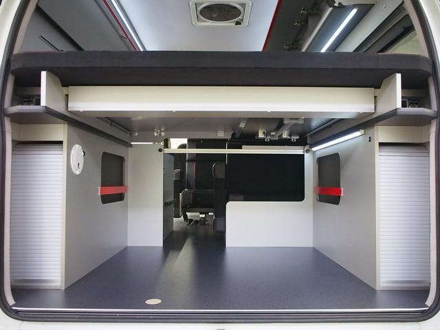 レクビィ トートバッグ 4WD 純正SDナビ 地デジ 純正LEDヘッド シンク 給排水10Lポリ DC冷蔵庫 アウターシャワー ツインサブBT 1500Wインバーター FFヒーター マックスファン(48枚目)