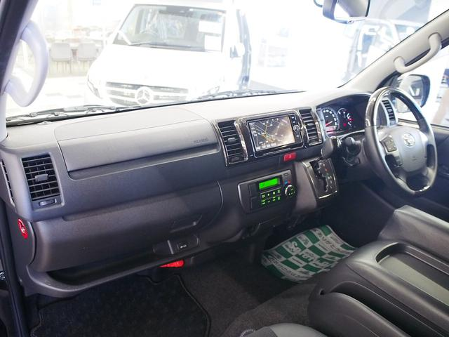 スーパーGL ダークプライム MRT タイプII 社外サンルーフ 4WD 純正SDナビ 地デジ 純正LEDヘッド ETC Bモニター LSD ハーフレザー ウッドコンビ ベッドキット サブバッテリー 床板張り AC100V(26枚目)