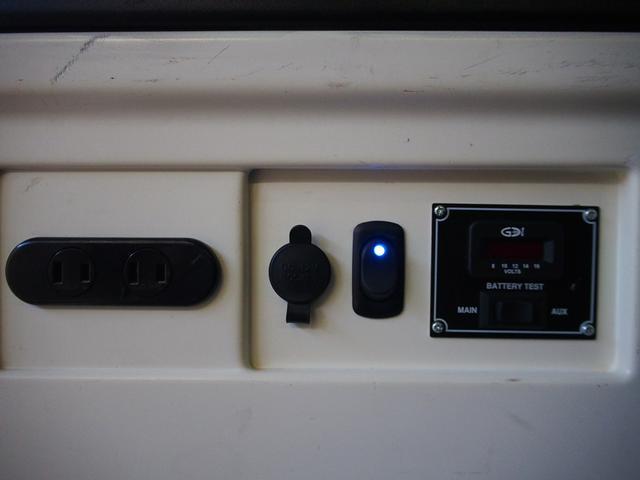 ロングスーパーGL MRTタイプII 純正SDナビ ワンセグ Bluetoothオーディオ Bモニター 両側パワスラ スマートキーモデリスタリップ LEDヘッド ベッドキット サブバッテリー 350Wインバーター(29枚目)