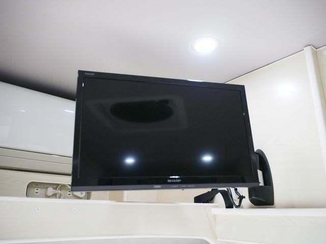 RVビッグフット W AC 4.7 社外ナビ 地デジ Bカメラ ETC ワンオーナー シンク 網戸エンゲル製DC冷蔵庫 19インチTV 4サブバッテリー インバーター FFヒーター 家庭用エアコン(10枚目)