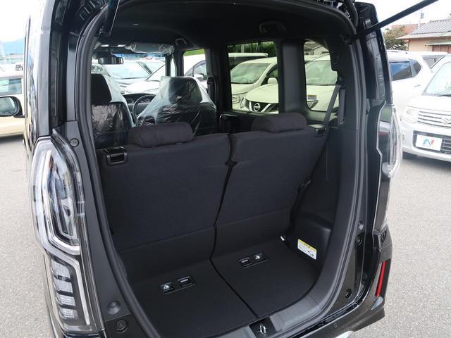 L 届出済未使用車 パワースライドドア LEDヘッド 純正14インチAW LEDフォグ 電動格納ミラー クルコン クリアランスソナー アイドリングストップ 記録簿 禁煙車(34枚目)