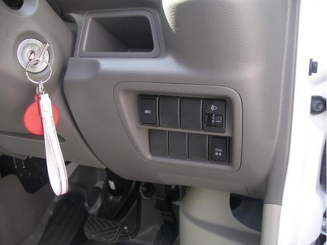 スズキ エブリイ PA 4WD 5AGSオートミッション スタッドレス付き