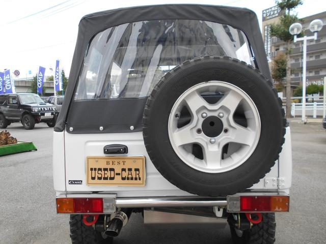 CC 4WD 幌 リフトアップ構造変更公認(7枚目)