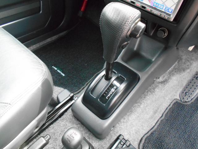 ランドベンチャー 4WD ハーフレザーシート シートヒーター(20枚目)