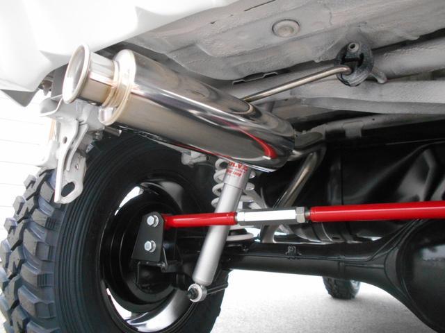 XG 4WD 5MT Newパーツ 2インチリフトアップキット マッドタイヤ マフラー ワンオーナー 禁煙車(31枚目)