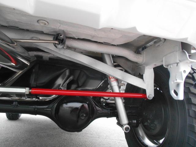 XG 4WD 5MT Newパーツ 2インチリフトアップキット マッドタイヤ マフラー ワンオーナー 禁煙車(32枚目)