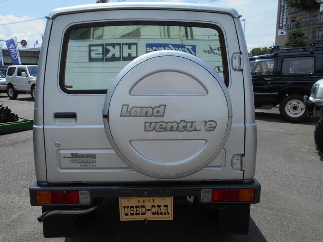 ランドベンチャー オリジナルコンディション 最終5型 4WD ターボ 禁煙車(6枚目)