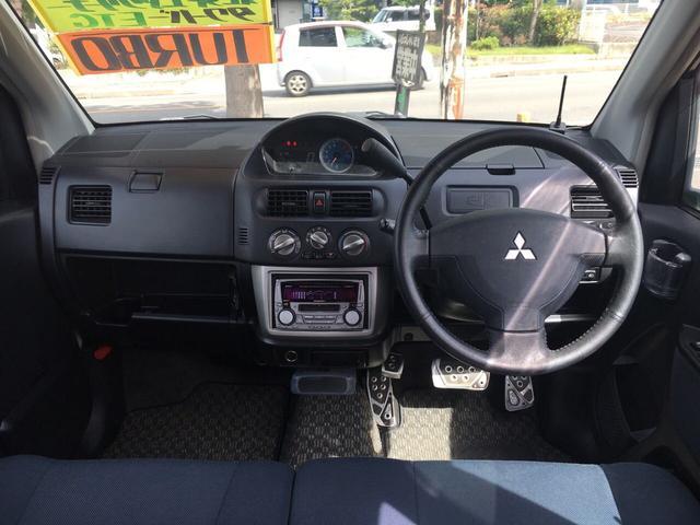 三菱 eKスポーツ R 4WD ターボ ETC タワーバー アルミ