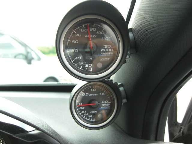 GTi フロントリップ 社外3連メーター ブローフバルブ(16枚目)