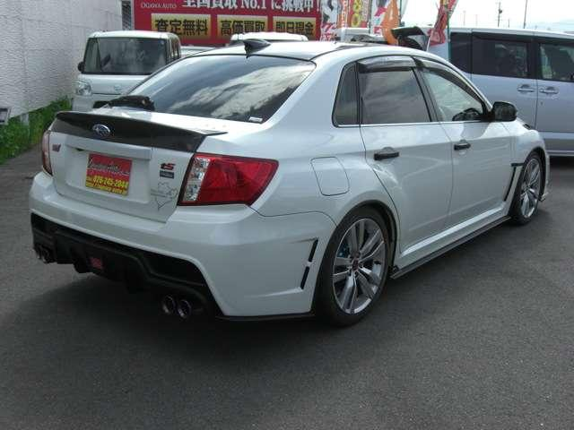 WRX STI Aライン タイプS ナビ フルセグ 車高調(4枚目)