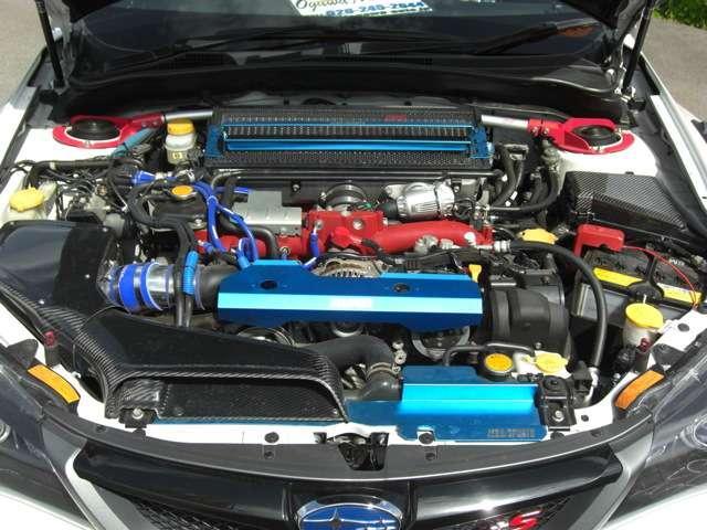 WRX STI Aライン タイプS ナビ フルセグ 車高調(18枚目)