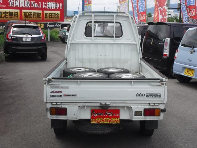 4WD 4速マニュアル AMラジオ(7枚目)